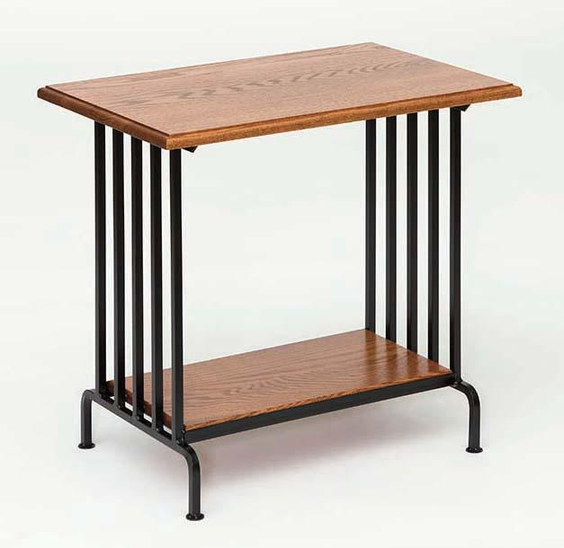 Southwest Mission Wrought Iron End Table
