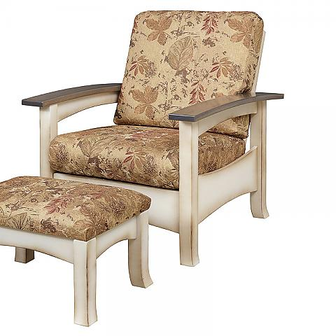 Captiva Morris Chair with stool