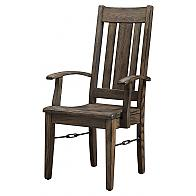 Ouray Dining Chair with arms - Dining Room Chair to match the table