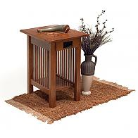 Prairie Mission Chair-Side End Table