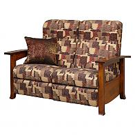 Captiva Recliner Love Seat with pillow