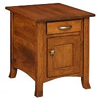 Captiva Enclosed End Table