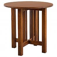 Prairie Mission Round End Table